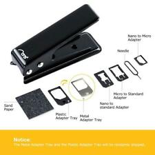 Aerb Sim Card Cutter with Nano-Micro, Nano-Standard, Micro-Standard Sim Adapters