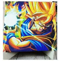 Dragon Ball Super Saiyan Son Goku Canvas Wood Board Ichiban Kuji OFFICIAL /297B