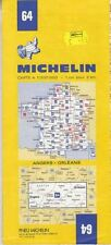 Michelin Map 64 Angers, Orleans : Michelin
