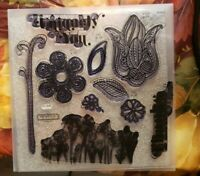 Close To My Heart My Acrylix A FLOWERING BUNCH S1306 Stamp Scrapbooking Card