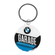 BMW Garage Key Ring Chain 4cm Metal Keyring Keychain Car BMW Merchandise Gift