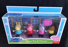 NEW - PEPPA PIG & FRIENDS  4 Figures - George, Peppa, Suzy Sheep & Pedro Pony