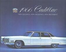 1966 CADILLAC SALES BROCHURE