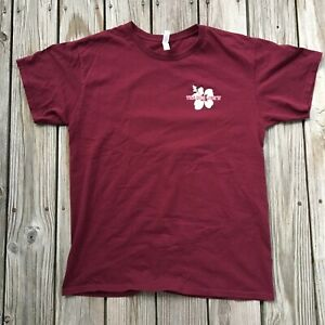 Trader Joes Shirt Size Large Maroon Red