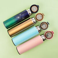 Double Wall Vacuum Insulated Stainless Steel Water Bottle Tea Cup Mug Thermos