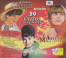 Connie Francis,Mireille Mathieu,Eydie Gorme 39 Exitos Originales Box set 3CD New