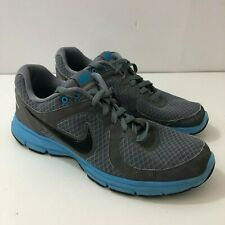 NIKE AIR Relentless Black Gray Blue Running Sneakers Mens US Size 10