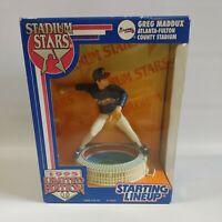 1995  Stadium Stars Starting Lineup Greg Maddux Atlanta Braves MLB Baseball