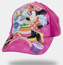 Girls minnie mouse and daisy baseball caps 3-8 yrs