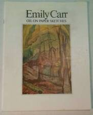 Emily Carr Oil on Paper Sketches
