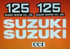 SUZUKI TS125 DECAL SET