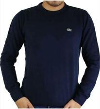 Pullover Lacoste Blu 100% Originale Autunno/Inverno