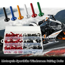 223x Motorcycle Sportbike Windscreen Fairing Bolt Kit Fastener Clip