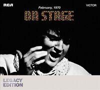 On Stage - Presley Elvis 2 CD Set Live Legacy Edition