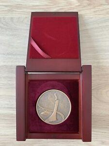 Olympic Bronze Medal President Sochi 2014 in box Original Rarity