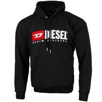 Diesel S-DIVISION Sweatshirt Men Herren Pullover Sweater black 00SH34-0CATK-900