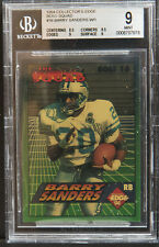 1994 collector's Edge boss Squad Barry Sanders W / 1 bgs 9