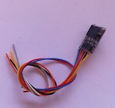 ZIMO MX622 Miniatur Decoder mit 7 Anschlußdrähte DCC -  neu Spur N