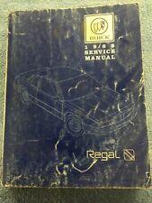 1988 Buick Regal OEM Factory Service Repair Manual Original from Buick Dealer