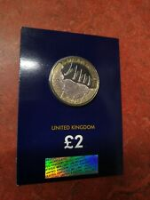 D Day Landings 2019 £2 Two Pounds Coin Change Checker Blue Carded BUNC
