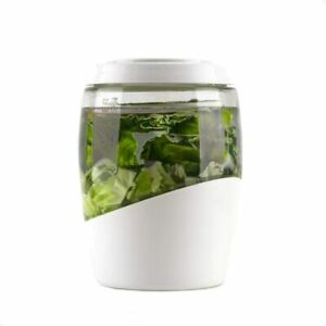 5L Mortier Pilon Glass Fermentation Crock Jar Pot Pickles Sauerkraut Kimchi