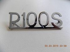 BMW /2 R100S motorcycle rear fender emblem  NEW