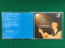 1 CD Musica , FURTWANGLER WIENER PHILARMONIKER - MOZART 40 SCHUBERT 8