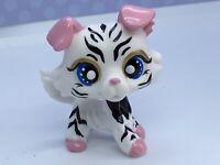 Littlest Pet Shop, Dog Puppy, Tiger Collie  OOAK Custom Hand Painted, Nice!