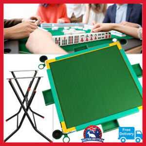Brand new Foldable Mahjong poker Table Holders Drawers Card Table Multi-Function