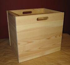 Holzbox, Kiefer massiv, neu