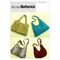 Butterick Sewing Patterns 5109 Handbags Bag One Size Accessories