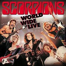 Scorpions World Wide Live 50th Anniversary 2 X 180gm Vinyl LP CD 2015