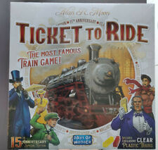 Ticket to Ride - SEALED 15 year anniversary edition including illuminated trains