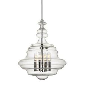 "Hudson Valley Lighting 4016-PN The Washington 4 Lights 16"" Pendant, Brushed Nick"