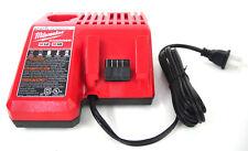 Used Milwaukee 48-59-1812 Multi-Voltage Charger, M12 / M18 12V 18V