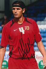 MK DONS HAND SIGNED MIGUEL LLERA 6X4 PHOTO.