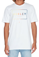 "BRAND NEW + TAG HURLEY MENS (XL) ""MIXED UP"" SURF T-SHIRT TEE SHORT SLEEVE WHITE"