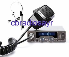 Midland Alan M10 Multimédia 12 Volts Radio CB avec Écouteur USB/Bluetooth