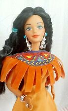 1993 Barbie Dolls Of The World Native American Special Edition Indianer 90er