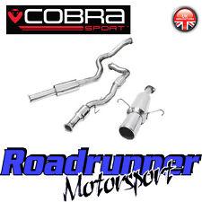 "VZ05a Cobra Sport Corsa D SRI 3"" Turbo Back Exhaust System Resonated & Cat 07-09"