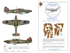 TopNotch Hawker Hurricane Pat. B camouflage scheme vinyl mask set