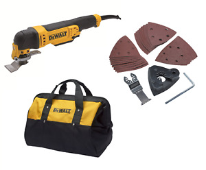 DEWALT DWE315B Corded Oscillating Tool with Bag 300W 240V XMS19DMULT