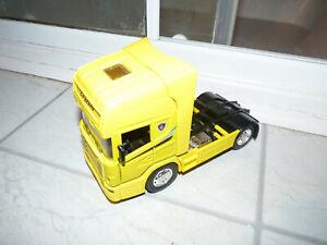 Newray Scania R124/400 Topline Truck in Yellow - 1:32