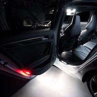 2 ampoules à LED Blanc Lumière éclairage Bas de porte pour Audi A4   B5 B6 B7 B8