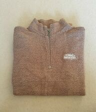 MENS WEIRD FISH HALF ZIP JUMPER SIZE MEDIUM