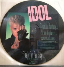 BILLY IDOL-FLESH FOR FANTASY-pictures disc NUOVO  EP  - 1984