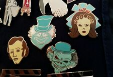 Disney Wdw The Haunted Mansion heads Le Lot of 4 Htf