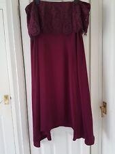 Oriel Lace Bardot Dress SIZE  22 CC