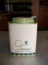 Vintage Dainty-Maid Personal Powder