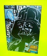 WALT DISNEY DARTH VADER STAR WARS Photo Graph Box w Luke Skywalker Comic on side